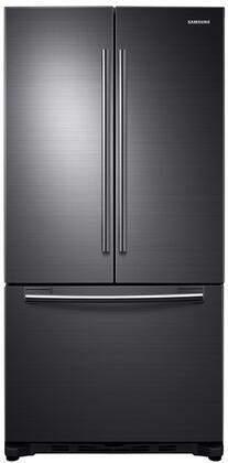 Samsung  RF18HFENBSG French Door Refrigerator Black Stainless Steel, Black Stainless Steel