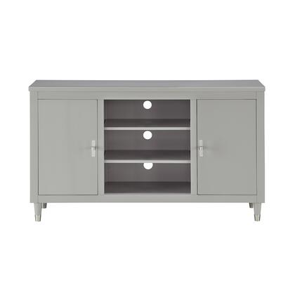 DS-D318-102 Smooth Modern 2 Door TV Console in