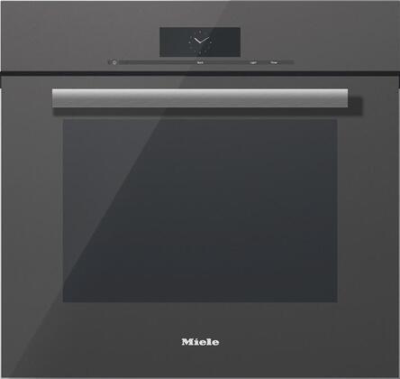 Miele M Touch H68802BPGRGR Single Wall Oven Slate, Main Image
