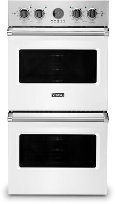 Viking Professional 5 VDOE527WH Double Wall Oven White, Main Image