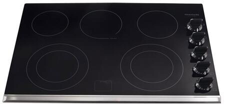 Frigidaire Gallery FGEC3067MB Electric Cooktop Black, Burner Configuration