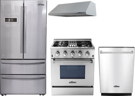 Thor Kitchen 887989 Kitchen Appliance Package & Bundle Stainless Steel, 1