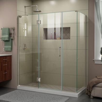 DreamLine Unidoor-X UnidoorX Shower Enclosure RS45 24HP 24D 14IP 30RP 04