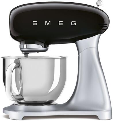 SMF02BLUS 16″ 50's Retro Style Aesthetic Stand Mixer with Stainless Steel Bowl  Lever Control and 600 Watts Motor in