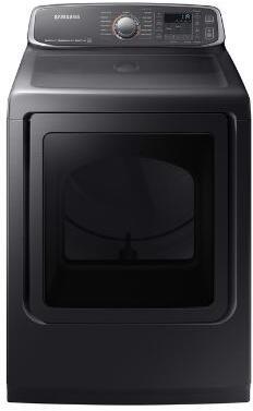 Samsung  DVE52M7750V Electric Dryer Black Stainless Steel, Main Image