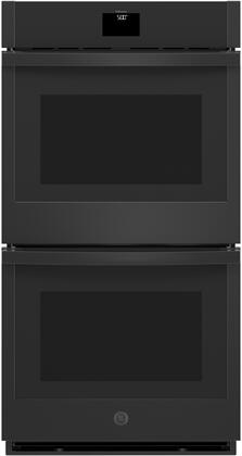 GE  JKD5000DNBB Double Wall Oven Black, Main Image