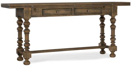 Hooker Furniture Hill Country 596085001BRN Console, Silo Image