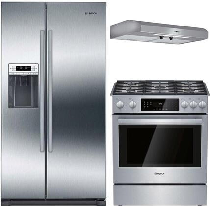 Bosch  902499 Kitchen Appliance Package Stainless Steel, main image