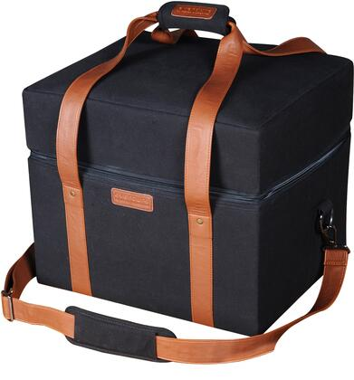 HBCUBEBAG Cube Carrier Bag With Durable And Stylish Black Canvas In Black And