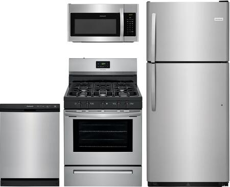 Frigidaire  1135244 Kitchen Appliance Package Stainless Steel, main image