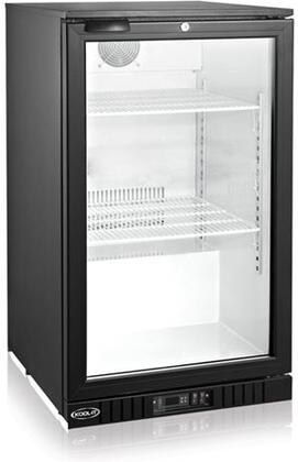KGM-7 22″ Glass Door Refrigerator with 5.2 cu. ft. Capacity  Digital Temperature Display and LED Lighting  in