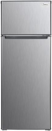 Impecca  RA2070SLG Top Freezer Refrigerator Stainless Steel, 1