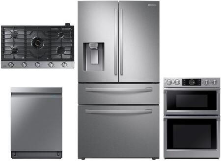 Samsung  1074133 Kitchen Appliance Package Stainless Steel, main image