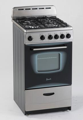 Avanti  GR2013CSS Freestanding Gas Range Stainless Steel, Main View
