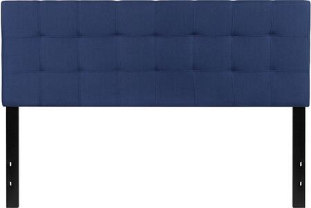 Flash Furniture Bedford HGHB1704QNGG Headboard Blue, HG HB1704 Q N GG