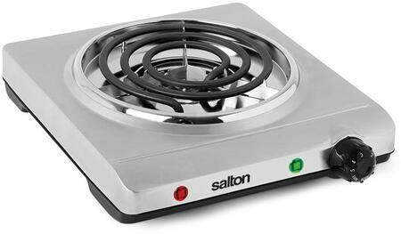 Salton  THP517 Electric Cooktop Stainless Steel, Main Image