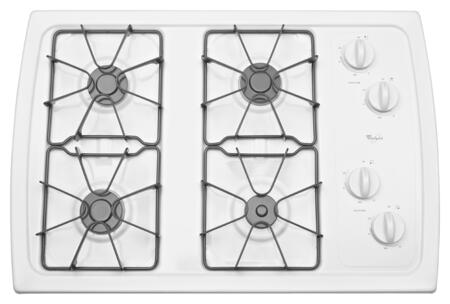 Whirlpool  W3CG3014XW Gas Cooktop White, W3CG3014XW Gas Cooktop