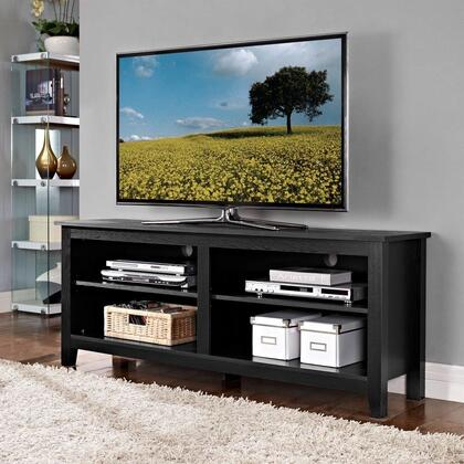 Walker Edison  W58CSPBL 52 in. and Up TV Stand , Image 1