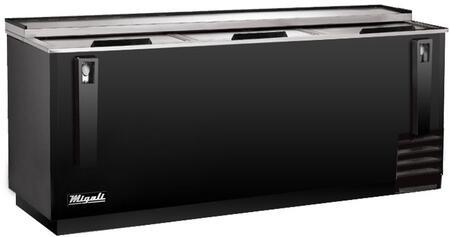 Migali Competitor CHBC95HC Bottle Cooler Black, Main Image