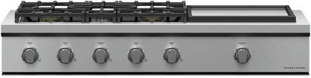 Fisher Paykel Professional CPV3485GDL Gas Cooktop Silver, CPV3-485GD Professional Rangetop