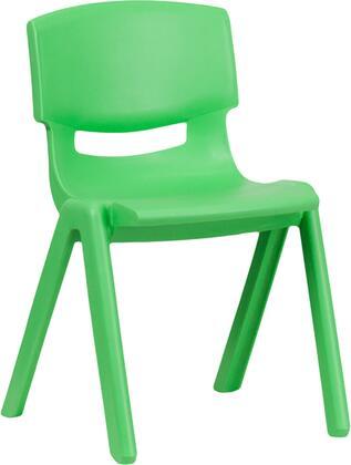 Flash Furniture YUYCX004GREENGG Kids Chair Green, 1
