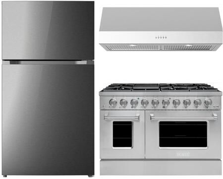 Forte  1500885 Kitchen Appliance Package Stainless Steel, Main image
