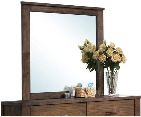 Acme Furniture Merrilee 21684 Mirror Brown, 1