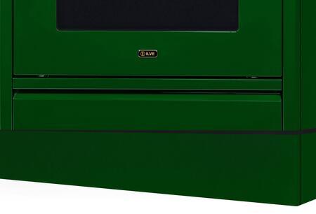 Ilve APZ100140VS Toe Kick, Emerald Green Toe Kick