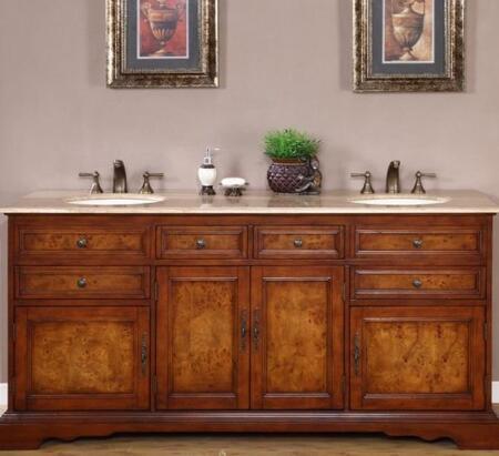 Silkroad Exclusive Bailey HYP0716TUIC72 Sink Vanity, 1