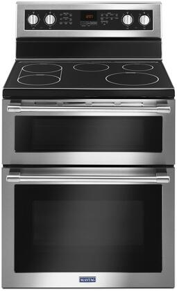 Maytag MET8800FZ Freestanding Electric Range Stainless Steel, Main Image