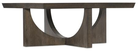 Hooker Furniture Miramar - Aventura 620280112DKW Coffee and Cocktail Table, Silo Image