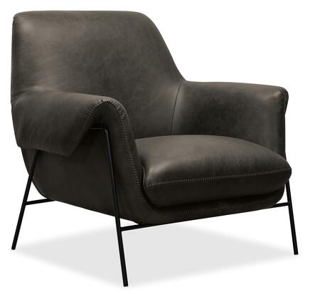 Hooker Furniture CC Series CC317096 Accent Chair Gray, Silo Image