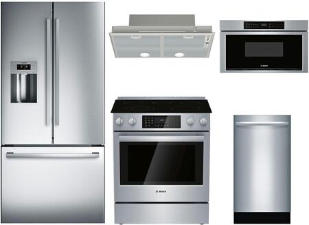 Bosch 902673 4 piece Stainless Steel Kitchen Appliances Package