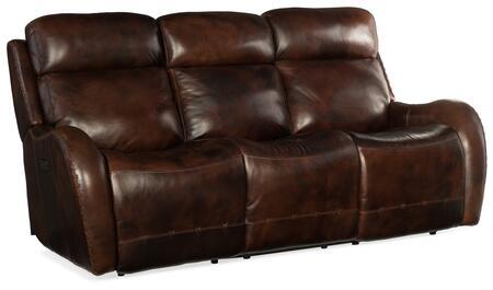 Hooker Furniture MS Series SS314P3088 Motion Sofa Brown, Silo Image