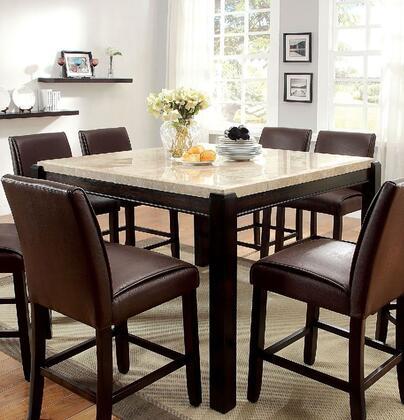 Furniture of America Gladstone II CM3823PT Dining Room Table , main image