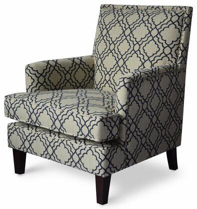 Aubrey Collection AUBREY-CH-MIDNIGHT  Accent Chair in