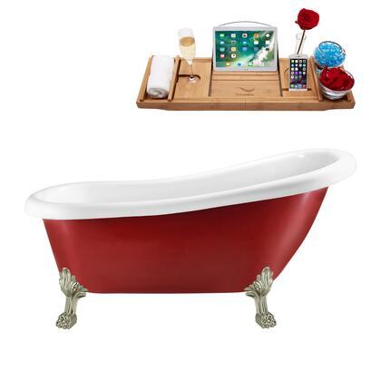 Streamline  N482BNKINWH Bath Tub Red, N482BNK IN WH 1
