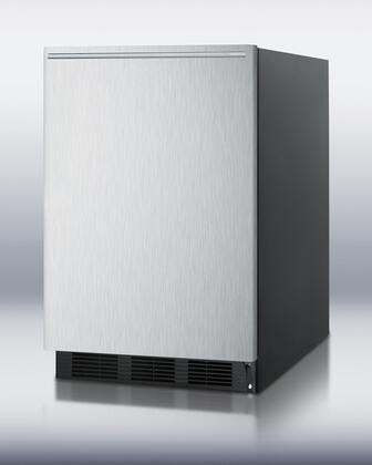 Summit FF6BBISSHHADA FF6BBISSHHADA Freezerless Refrigerator Black, 1