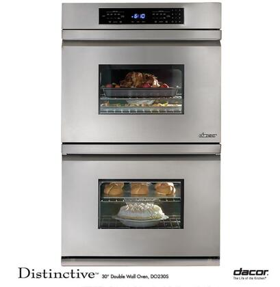 Dacor Distinctive DO230S Double Wall Oven Stainless Steel, 1