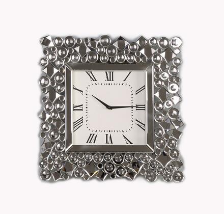 Acme Furniture Kachina 97612 Wall Clocks White, 97612