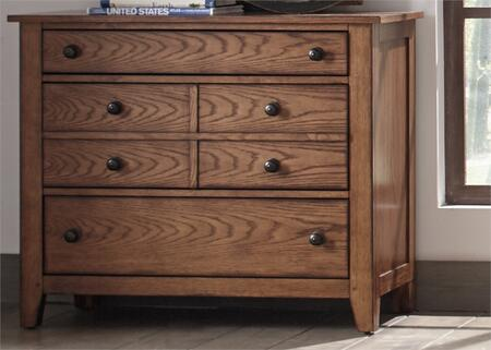 Liberty Furniture Grandpa's Cabin 175BR30 Dresser Brown, Main Image