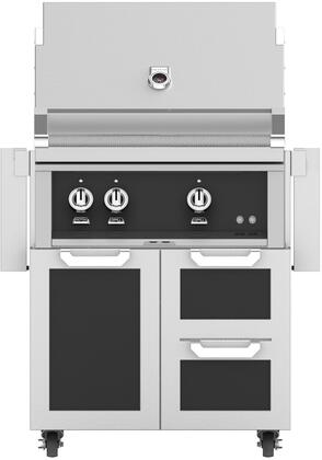 Hestan  852437 Natural Gas Grill Black, Main Image