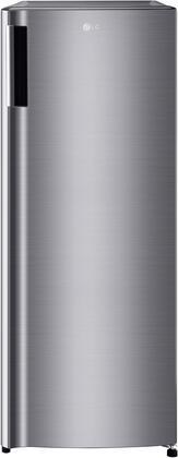 LG  LRONC0705V Top Freezer Refrigerator Silver, LRONC0705V Front