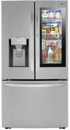 LG LRFVC2406S French Door Refrigerator Stainless Steel, LRFVC2406S French Door Refrigerator
