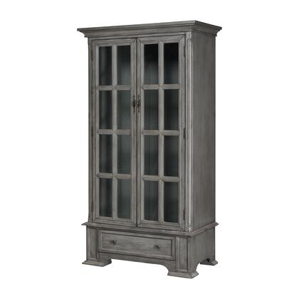 17240 Hartford Cabinet  in Antique Silvered