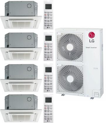 LG 963687 Quad-Zone Mini Split Air Conditioner, Main Image