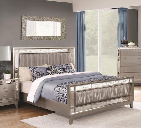 Coaster Leighton 204921 Bed Gray, 1
