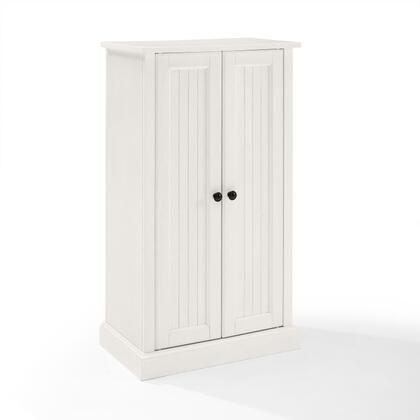 Crosley Furniture Seaside CF3106WH Cabinet White, CF3106 WH W1
