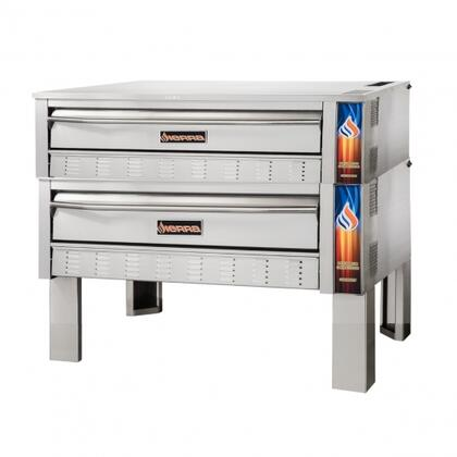 Sierra SRPO72G2 Commercial Pizza Oven Stainless Steel, SRPO72G2 Full Size Gas Deck Oven