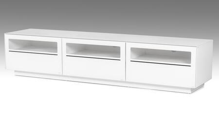 VIG Furniture Modrest Landon VGBBSJ8202WHT 52 in. and Up TV Stand White, 1